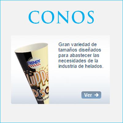 envases de cono para industria alimentos